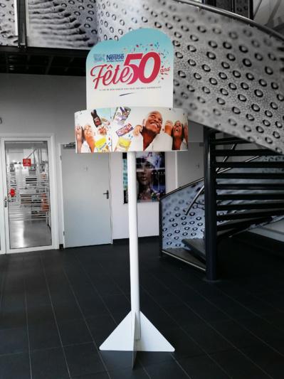 PLV Carrousel, une visibilité à 360°