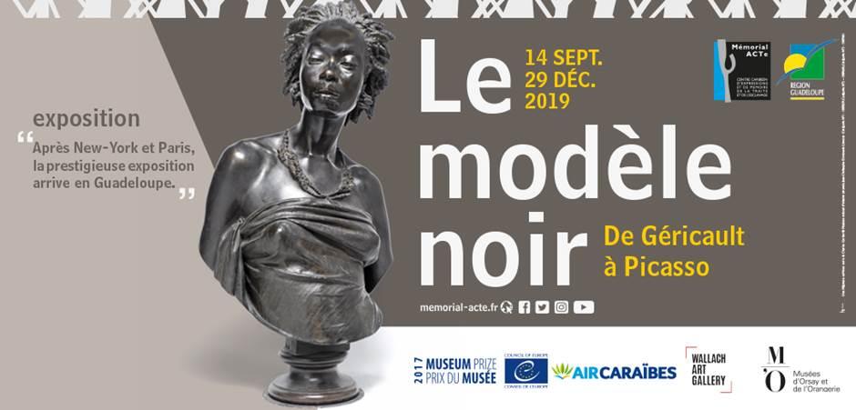 """Prestataire d'impression de l'exposition """"Le Modèle noir"""""""