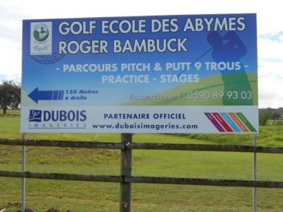 Dubois Imageries : Partenaire du Golf Ecole des Abymes