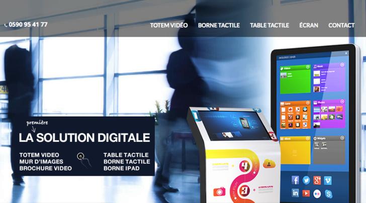 NOUVEAU : site internet Dubois PLV Digitale