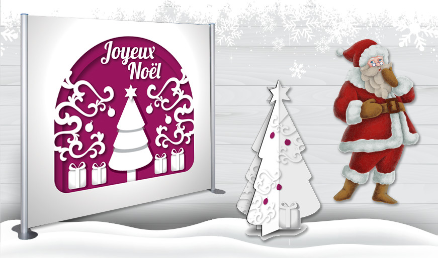 PLV Spéciale Noël