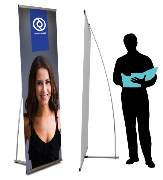 Banner stand, le display esthétique