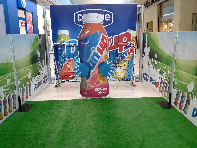 Stand d'animation commerciale