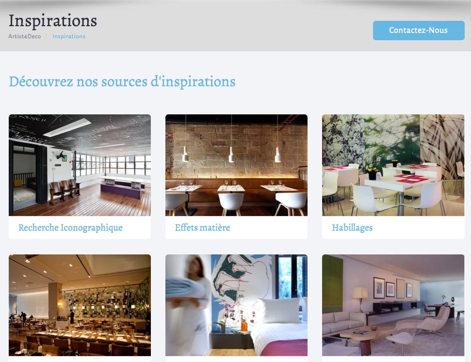 Nouveau site web d di la d coration professionnelle for Decoration professionnelle