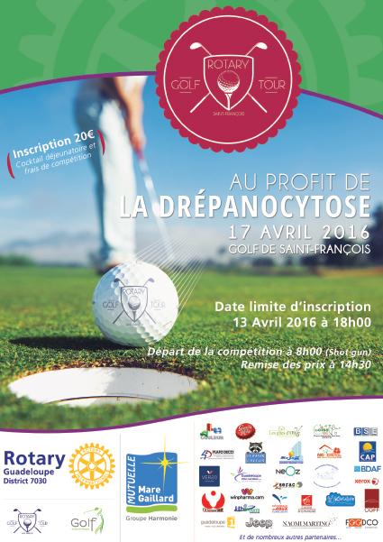 Partenaire du Rotary Guadeloupe au profit de la Drépanocytose