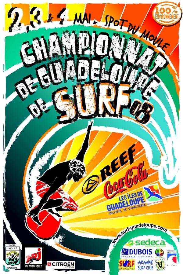 Dubois, partenaire des championnats de Guadeloupe de Surf