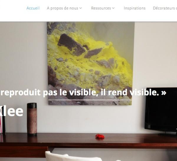 www.Artist4Deco, nouveau site de decoration professionelle