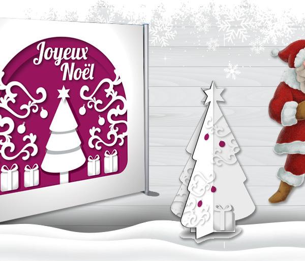 PLV Ambiance de Noël
