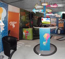 Stands sur mesure : 72 m2 de stand d'exposition pour la Région Guadeloupe