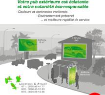 AFFICHAGE, L'INNOVATION TECHNOLOGIQUE AU SERVICE DE L'ÉCOLOGIE